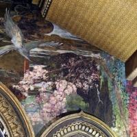 Salsomaggiore, ex-grand hotel, interno, salone moresco, affreschi galileo chini con rivisitazione di Leda e il cigno 07 fiori di pesco - Sailko - Salsomaggiore Terme (PR)
