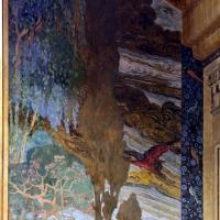 Salsomaggiore, ex-grand hotel, interno, salone moresco, affreschi galileo chini con rivisitazione di Leda e il cigno 14 - Sailko - Salsomaggiore Terme (PR)