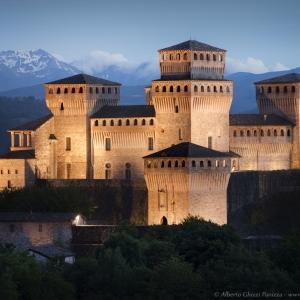Castello di Torrechiara - Castello di Torrechiara, notturno foto di: |Alberto Ghizzi Panizza| - Alberto Ghizzi Panizza.com