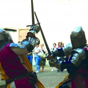 Castello di Torrechiara - Castello di Torrechiara, rievocazione storica armigeri foto di: |Sebastian Corradi| - Comune di Langhirano