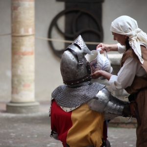 Castello di Torrechiara - Castello di Torrechiara, rievocazione storica foto di: |Sebastian Corradi| - Comune di Langhirano
