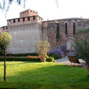 Castello di Montechiarugolo - I giardini all'italiana foto di: |Luca Trascinelli| - Luca Trascinelli
