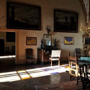 Castello di Montechiarugolo - La sala interna foto di: |Luca Trascinelli| - Luca Trascinelli