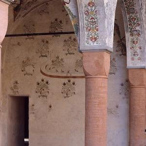 Castello di Roccabianca - Il Porticato foto di: Davoli - Archivio Castello