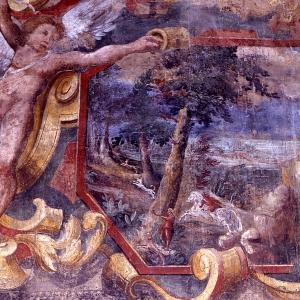 Castello di Roccabianca - Particolare Sala dei Paesaggi foto di: Davoli - Archivio Castello di Roccabianca