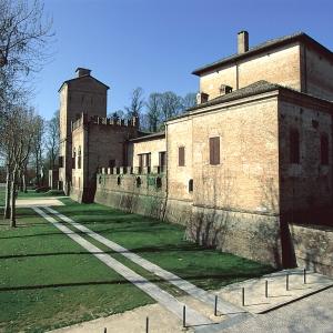 Rocca dei Rossi - Esterno Rocca dei Rossi foto di: |Comune San Secondo| - Archivio fotografico del castello