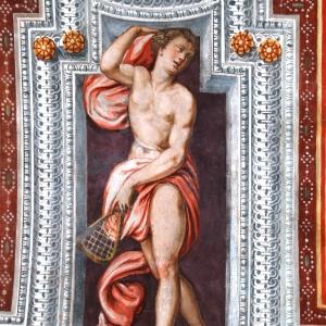 Rocca dei Rossi - Sala degli atleti foto di: |Comune San Secondo| - Archivio fotografico del castello
