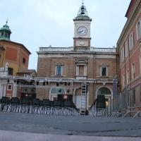 Orologio piazza del popolo - Montanarigiorgio - Ravenna (RA)