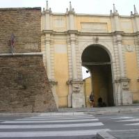 Porta adriana, la facciata con le vecchia mura - Montanarigiorgio - Ravenna (RA)