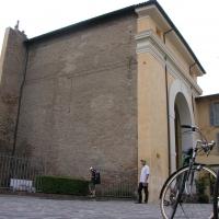 Fianco sx porta adriana visto dal centro - Montanarigiorgio - Ravenna (RA)