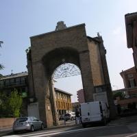 Porta panfilia retro - Montanarigiorgio - Ravenna (RA)