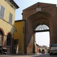 Porta sisi retro - Montanarigiorgio - Ravenna (RA)