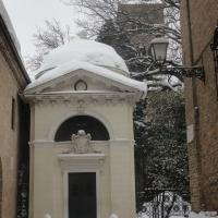 Tomba di Dante e la neve - Robertamici - Ravenna (RA)
