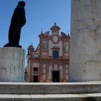Chiesa del Suffragio vista dal Monumento di Baracca - Sofiadiviola - Lugo (RA)