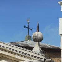 Particolare del tetto di San Vitale - Robertakool - Ravenna (RA)