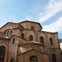 Basilica di san vitale vista posteriore - Mario Casadio - Ravenna (RA)
