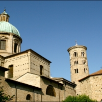 Veduta Duomo di ravenna e Battistero Neoniano - Ediemme - Ravenna (RA)