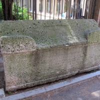 Ravenna, s. francesco, ext., sarcofago 03 - Sailko - Ravenna (RA)