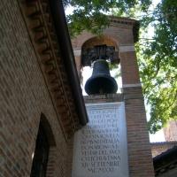 Zona Dantesca - Campana ed iscrizione - Bebetta25 - Ravenna (RA)