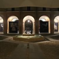 Il loggiato in occasione del centenario della nascita di Angelo Biancini - Vincenzo Zaccaria - Castel Bolognese (RA)