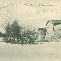 Castel Bolognese. Torrione dell'ospedale civile (Sec. XV), 1900 - Rossobiblioteca - Castel Bolognese (RA)