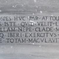 Colonna dei Francesi epigrafe lato nord ovest - Ediemme - Ravenna (RA)