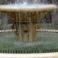 La fontana dei Giardini pensili - Federfabbri - Ravenna (RA)