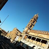 Piazza del Popolo con Torre dell'orologio e Palazzo del Podestà - Micheleorlando78 - Ravenna (RA)