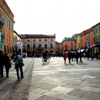 Campo lungo su piazza del Popolo - Federfabbri - Ravenna (RA)