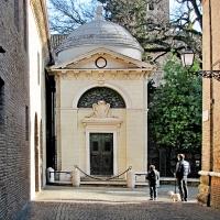 Tomba di Dante - Veduta frontale - Veniero Rubboli - Ravenna (RA)