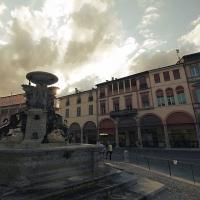 Tramonto sulla fontana - Frenky65 - Faenza (RA)