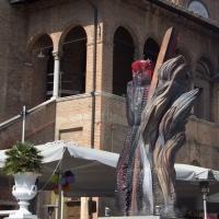 ?Il grande fuoco? - Museo all'aperto di opere di arte contemporanea - Matt.giocoliere - Faenza (RA)