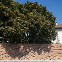 ?Muro del vento? - Museo all'aperto di opere di arte contemporanea - Matt.giocoliere - Faenza (RA)