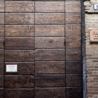 Ingresso alla pinacoteca comunale - Matt.giocoliere - Faenza (RA)