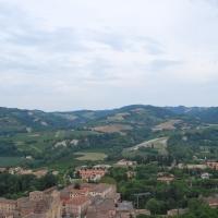 Il paesaggio visto dalla Rocca Manfrediana - Chiari86 - Brisighella (RA)