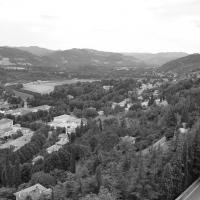 Il Paesaggio in bianco e nero visto dalla Rocca - Chiari86 - Brisighella (RA)