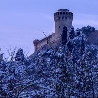 Brisighella - Rocca con la neve - Vanni Lazzari - Brisighella (RA)