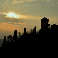 Sky line di Brisignella - Gianni Saiani - Brisighella (RA)