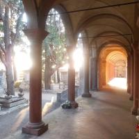 Cimitero monumentale di Massa Lombarda - vista dal portico - Federica ricci - Massa Lombarda (RA)