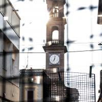 Torre dell'orologio presa fra le reti - Laurina 79 - Massa Lombarda (RA)