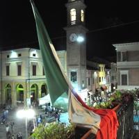 Torre orologio tricolore - Roberto Marconi 62 - Massa Lombarda (RA)