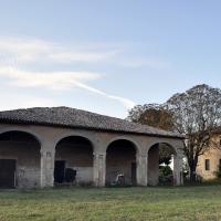 Villa Ferrari Codazzi porticato - Roberto Marconi 62 - Massa Lombarda (RA)