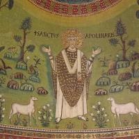 Particolare di Sant'Apollinare, mosaico absidale - Cristina Cumbo - Ravenna (RA)