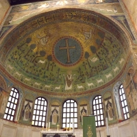 Basilica di Sant'Apollinare in Classe, mosaico absidale - Cristina Cumbo - Ravenna (RA)