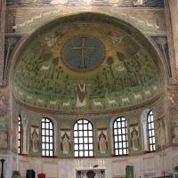 Particolare musivo- sant'Apollinare in Classe - Chiara Dobro - Ravenna (RA)