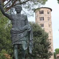 Statua di Augusto- di fronte Sant'Apollinare in Classe - Chiara Dobro - Ravenna (RA)