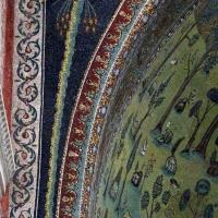Sant'apollinare in classe, mosaici dell'arcone, palma, VII secolo 01 - Sailko - Ravenna (RA)