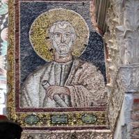 Sant'apollinare in classe, mosaici dell'arcone, san luca, xii secolo - Sailko - Ravenna (RA)