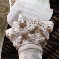 Sant'apollinare in classe, interno 02 capitello bizantino - Sailko - Ravenna (RA)