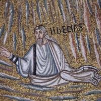 Sant'apollinare in classe, mosaici del catino, trasfigurazione simbolica, VI secolo, 06 elia - Sailko - Ravenna (RA)